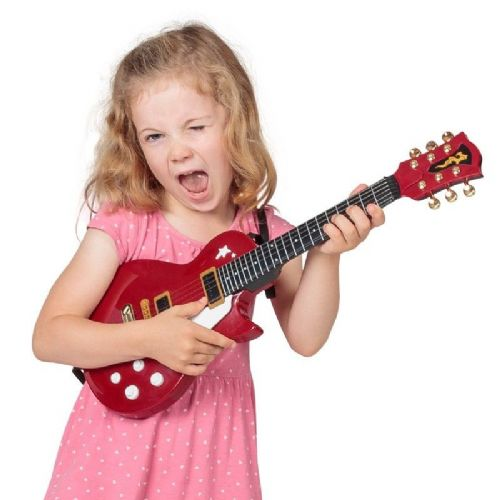 Kids Children Electric Rock Guitar Musical Instrument Toy Gift